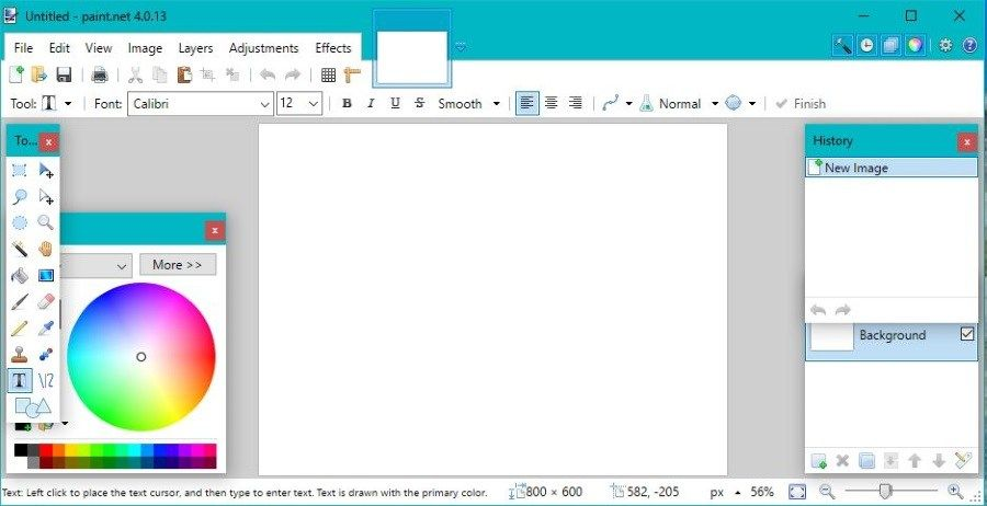 How To Select and Work With Text in Paint.net | Image ...