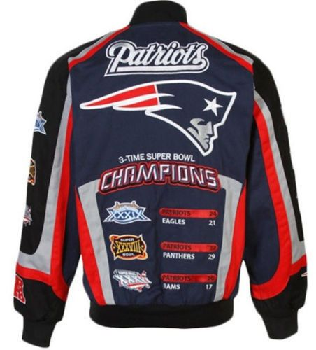 New England Patriots Nfl Championship Twill Jacket Twill Jacket Jackets Nfl Championships