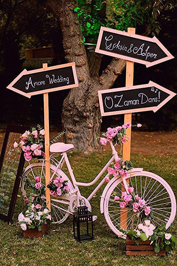 Photo of 100 fantastische u. Romantische Fahrrad-Hochzeits-Ideen – Hochzeit ideen