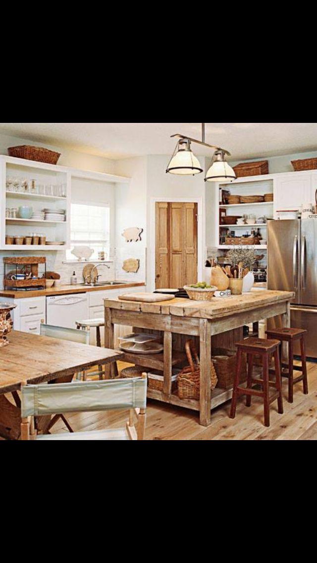 Floors and counters Casa Pinterest Cocinas, Hogar y Decoración - muebles para cocina de madera