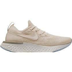 Photo of Nike women's running shoes Epic React Flyknit, size 41 in light cream / sail-lemon wash, size 41 in light