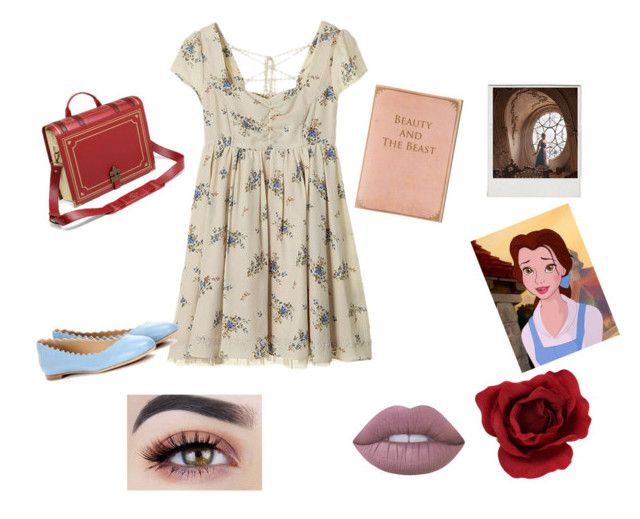 """""""True beauty is found not in ones looks but in how one treats others."""" by vintagegabbi on Polyvore featuring Chloé, Conran, Lime Crime, Polaroid and Emma Watson"""