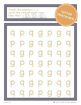 Building Visual Tracking Skills With Letter Tracking Letter