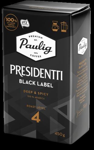 Presidentti Black Label Paulig Fi Black Label Labels Tech Company Logos