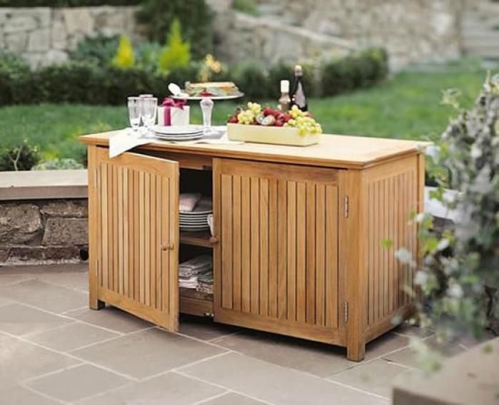 Exceptionnel Best Teak Outdoor Storage Cabinet Ideas