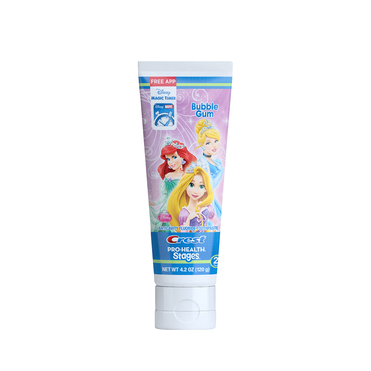 Crest Pro Health Stages Disney Princess Toothpaste | Kids | Pinterest