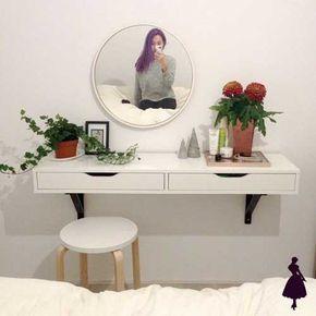 Ideas de tocador para inspirarse deco decoracion de for Ejemplo de dormitorio deco