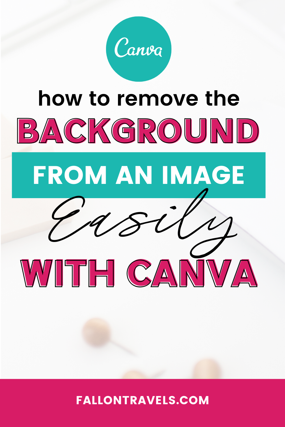 How to Remove the Background from an Image in Canva (no