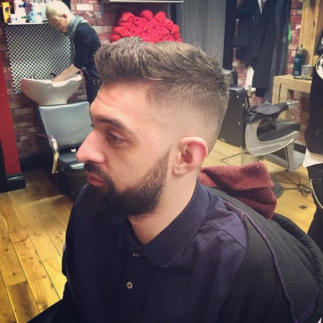 Gents Cut By Evelyngtw30 Taper Hair Fade Classic Beer