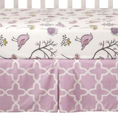 Room 365™  Birds & Flowers 3pc Crib Set