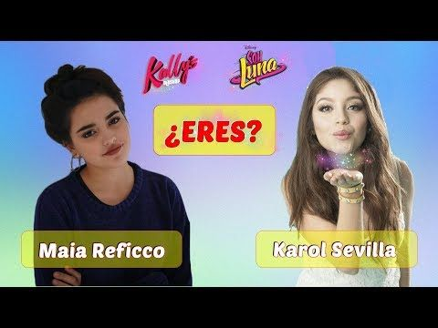 ¿Eres Karol Sevilla o Maia Reficco? ¡Test de personalidad! - YouTube #preguntassevilla