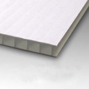 10mm Corrugated Plastic Sheets 48 X 96 10 Pack 100 Virgin White Corrugated Plastic Sheets Corrugated Plastic Plastic Sheets