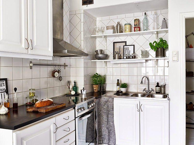4 tips para decorar cocinas pequeñas Decorar cocinas pequeñas
