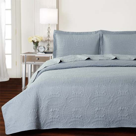 of the Day: 56% Off Mellanni Bedspread Coverlet Set : quilt deal of the day - Adamdwight.com