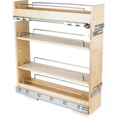 Superieur Base Cabinet No Wiggle Pull Out Spice Rack