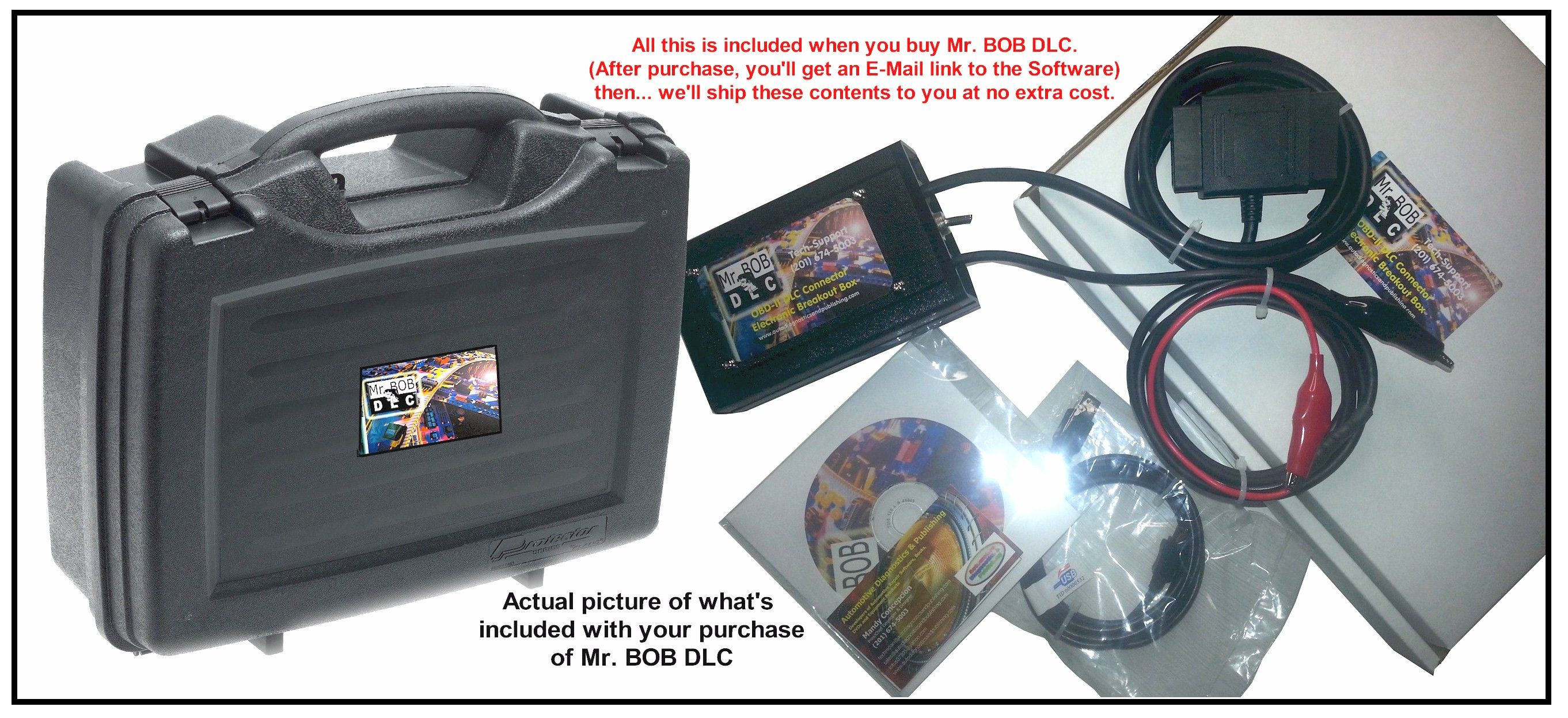 Mr. BOB DLC OBDII Data Link Connector Diagnostics