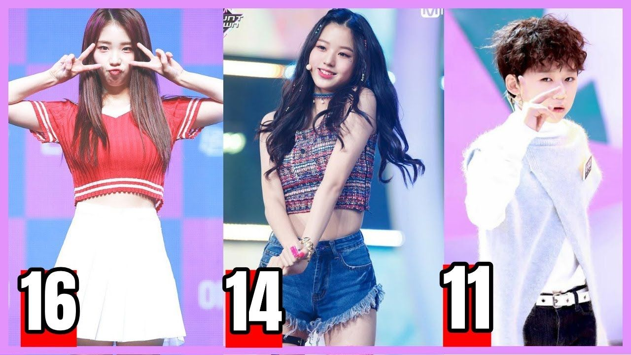 Meet Youngest Kpop Idols 16 11 Years Old