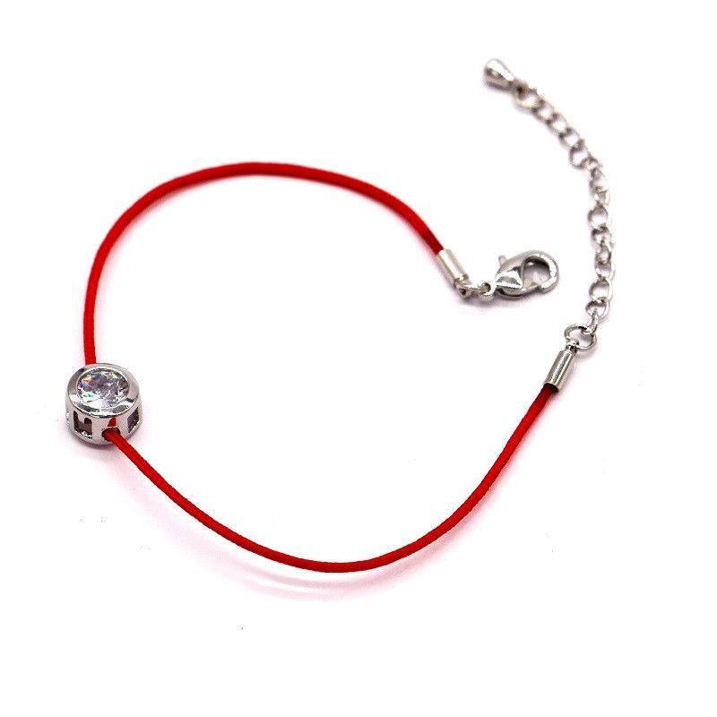 bracelet pin selling jewelry women chain zircon classic simple new lucky red bracelets chains string hot for bijoux