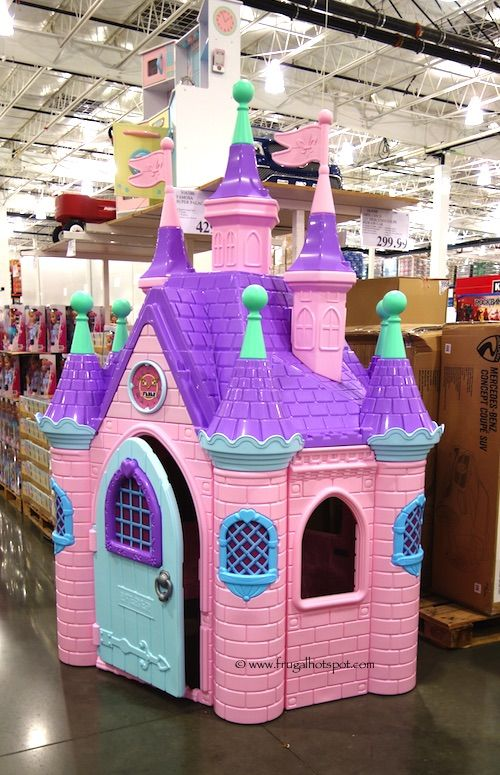 Famosa super palace at costco it 39 s 8 feet tall frugalhotspot toys kids pinterest - Costco toys for kids ...