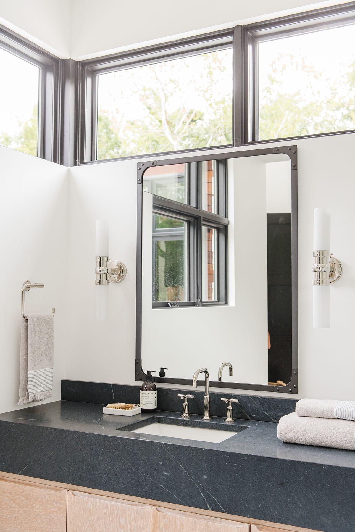 Modern Lake House Bonus Rooms Photo Tour With Images Basement Bathroom Design Modern Lake House Small Basement Design