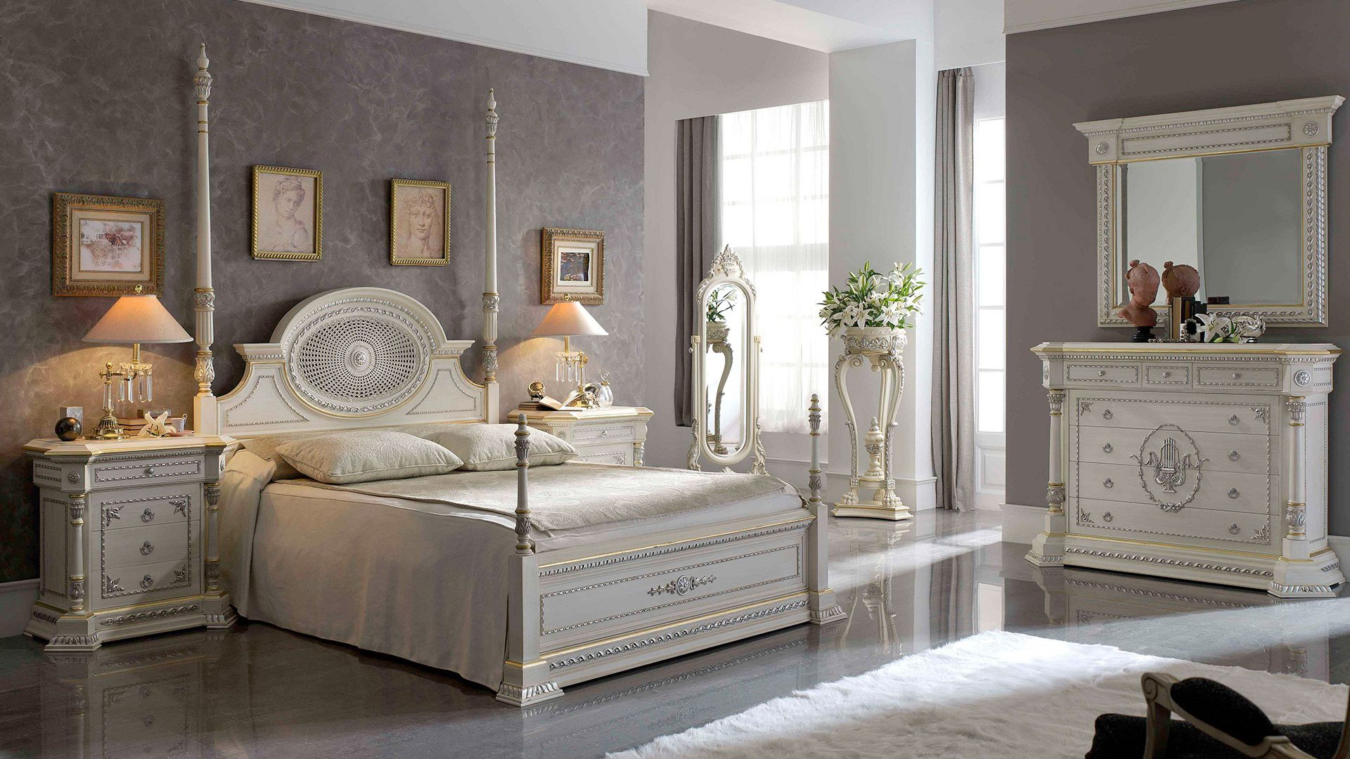 Dormitorios de lujo muebles de lujo pic bonitos for Muebles clasicos baratos