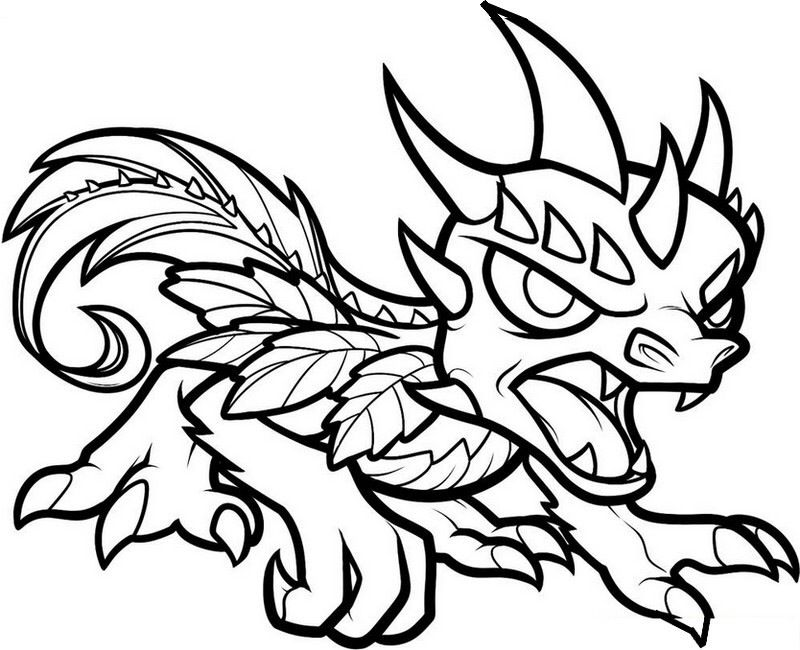 Another Dragon Coloring Pages Crayola Coloring Pages Skylanders