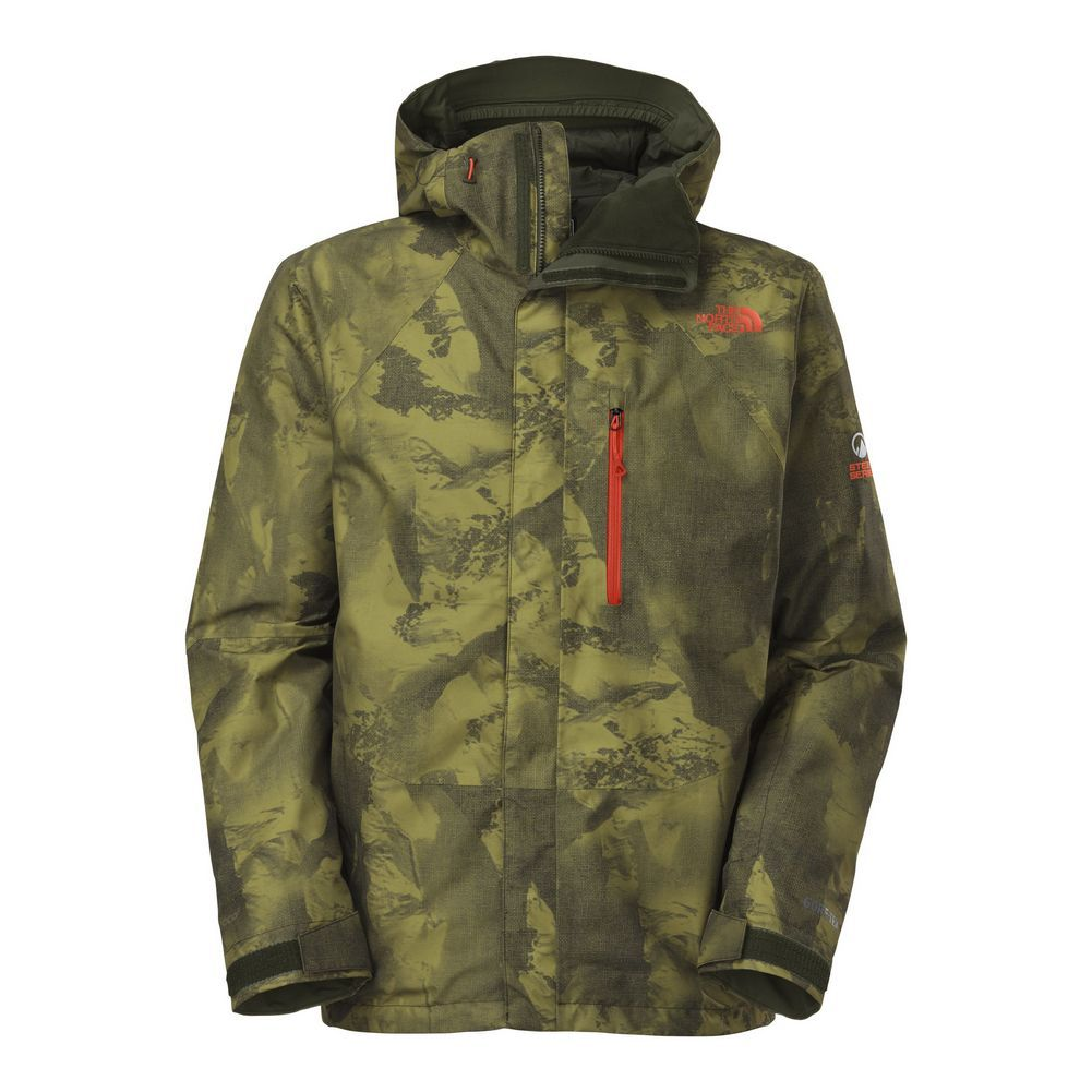 The North Face Nfz Insulated Jacket Mens Forest Night Green Camo Print 15 Jpg 1001 1001 Insulated Ski Jacket Jackets Mens Jackets