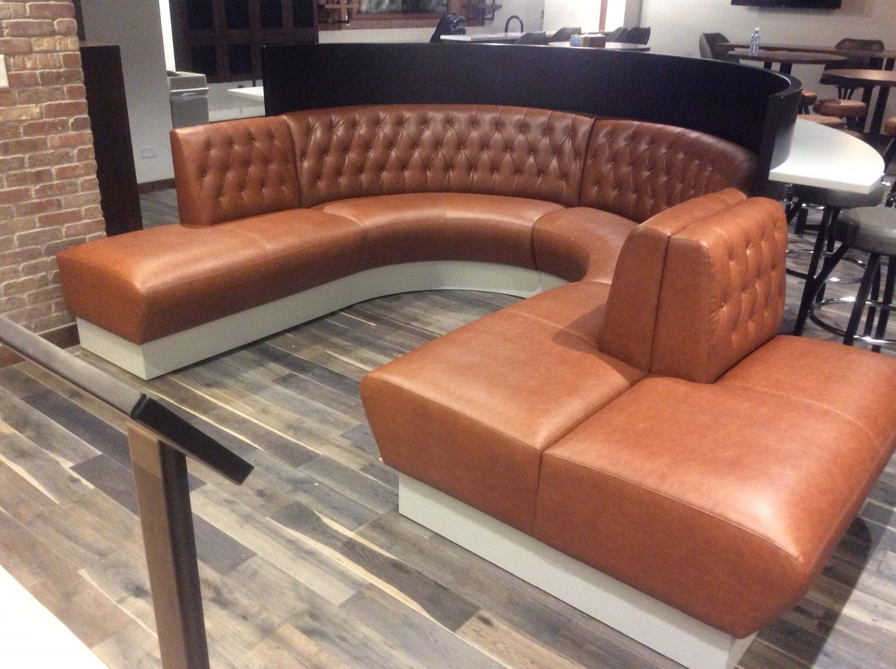 Banquette Seating - Hampton | Banquette seating, Banquette ...
