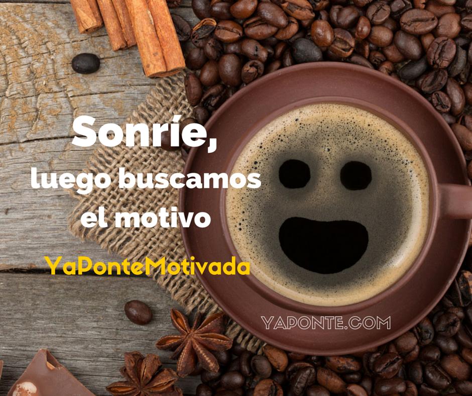 Sonríe, luego buscamos el motivo #YaPonte