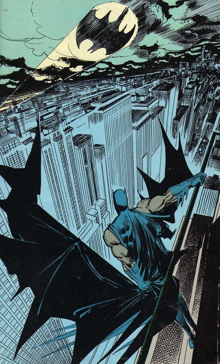 Klaus Jansons page in Batman: The legends of the Dark Knight #6