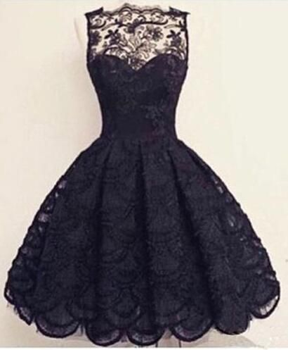 Charming Lace Homecoming Dress,Short Homecoming Dresses