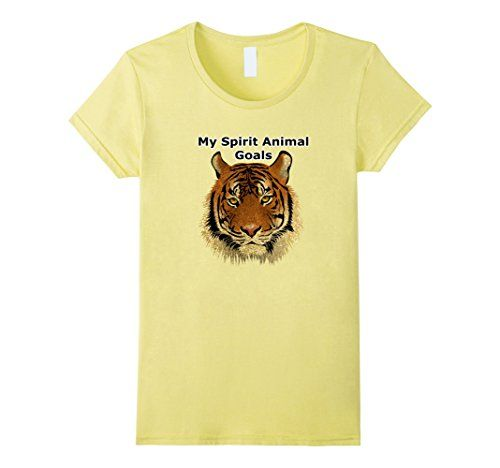 465ca8be3 T Shirt · Shiva · Womens My Spirit Animal Goals Beautiful Fierce Tiger  Shir... https://