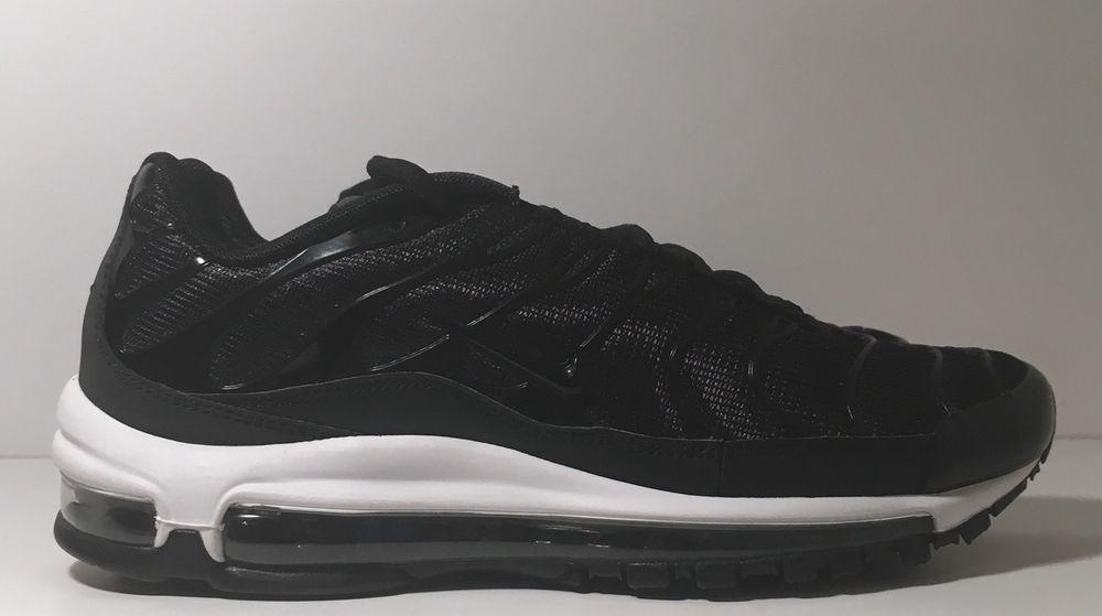 SZ.8 Nike Men Air Max 97 Plus AH8144 001 Tune Up Black