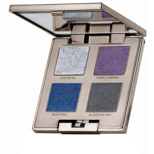 Laura Mercier Eye Palette, Chrome Extravagance Fall Color Collection found on Polyvore featuring beauty products, makeup, eye makeup, eyeshadow, laura mercier eyeshadow, eye shimmer makeup, laura mercier eye shadow, glitter eyeshadow and palette eyeshadow