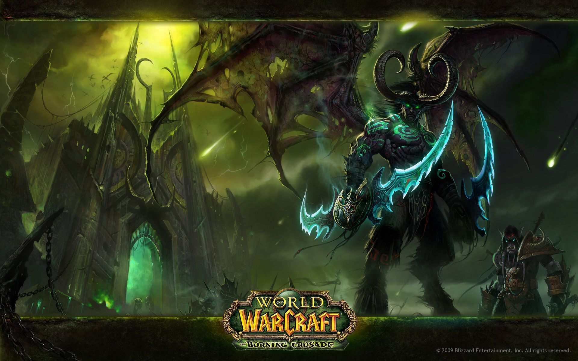 World Of Warcraft fantasy warrior weapons wallpaper x