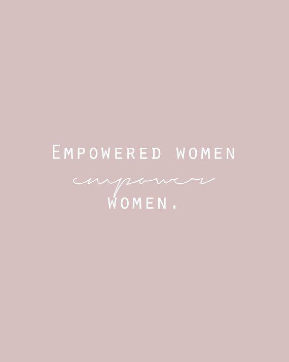 Feminist Quote Printable Empowered Women Empower Women Blush Wall Art Girlboss Printable Lady Entre Feminist Quotes Empowering Quotes Women Empowerment