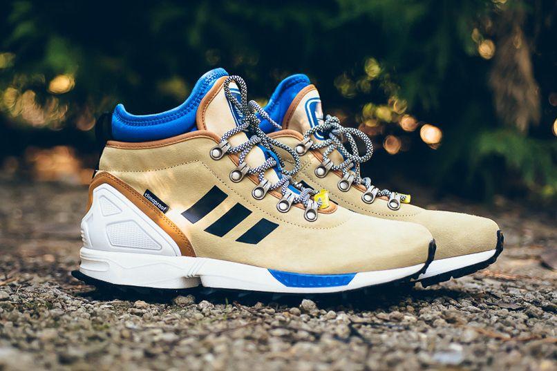 Adidas Zx Flux Winter Boot Sand Calzas Adidas Zapatos