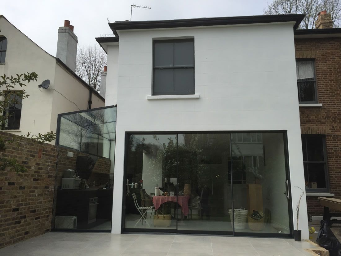 Frameless Sliding Glass Patio Door System Slimline Glazing