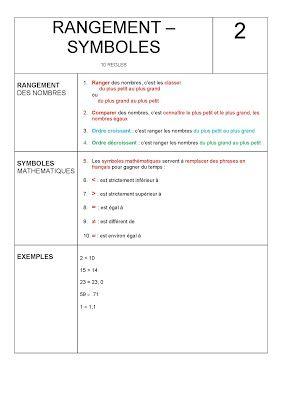 Rangement - Symboles - Dix Sur Dys