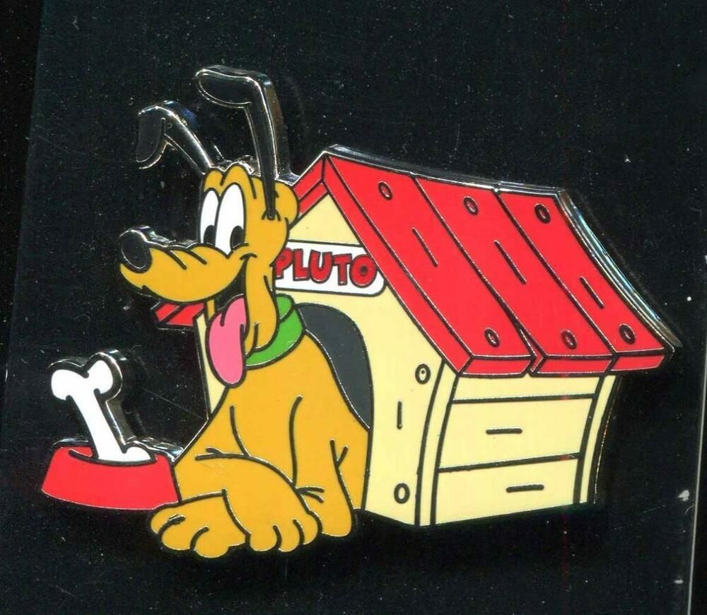 Pluto Doghouse Disney Pin Disney Pins Dog Houses Disneyland Pins