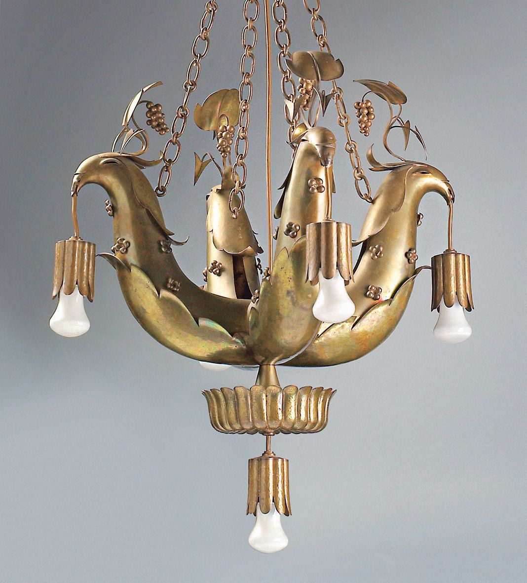 Silly supper dagobert peche pinterest chandeliers dagobert peche chandelier with birds designed 1922 arubaitofo Gallery