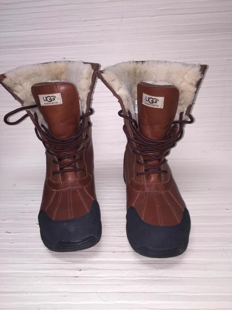 99d10a30798 UGG AUSTRALIA MEN'S BUTTE BOOT~Waterproof leather~Wool lining~Sz 12 ...