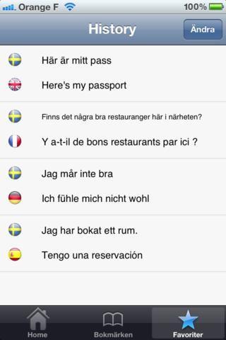 Den här appen är en universalapp, vilket innebär att den kan användas på iPhone och iPad.  My translator Pro är en personlig översättare som...