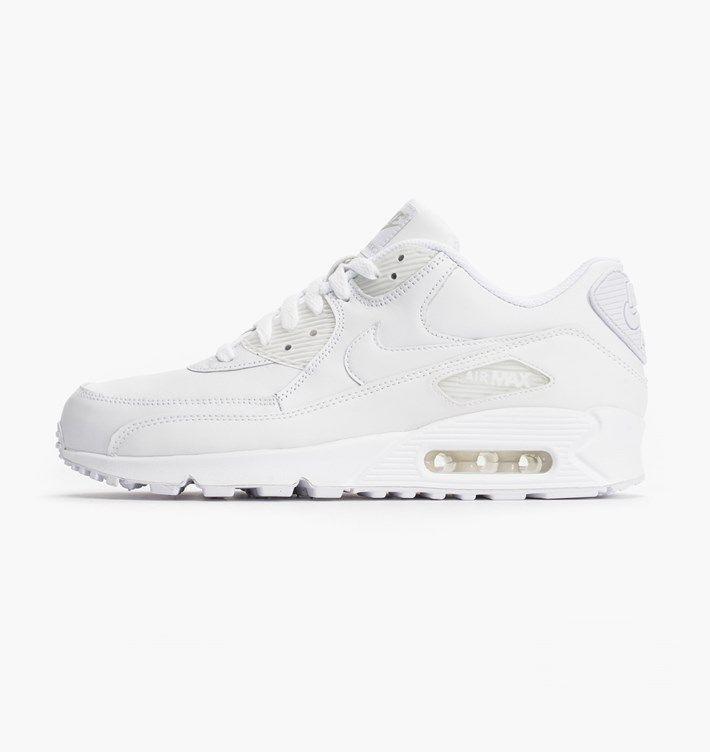 wholesale dealer 044d1 b55b5 caliroots.com Air Max 90 Leather Nike 302519-113 Triple white! 172219