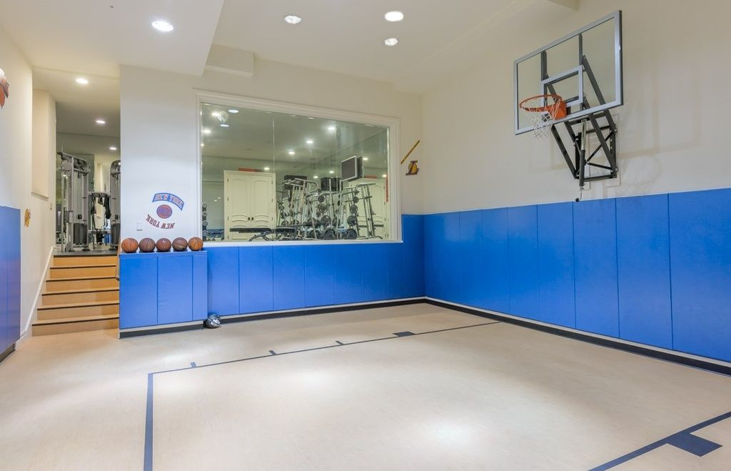 Most Expensive Homes In New Jersey Photos And Prices Zillow Home Basketball Court Basketball Room Inside Celebrity Homes