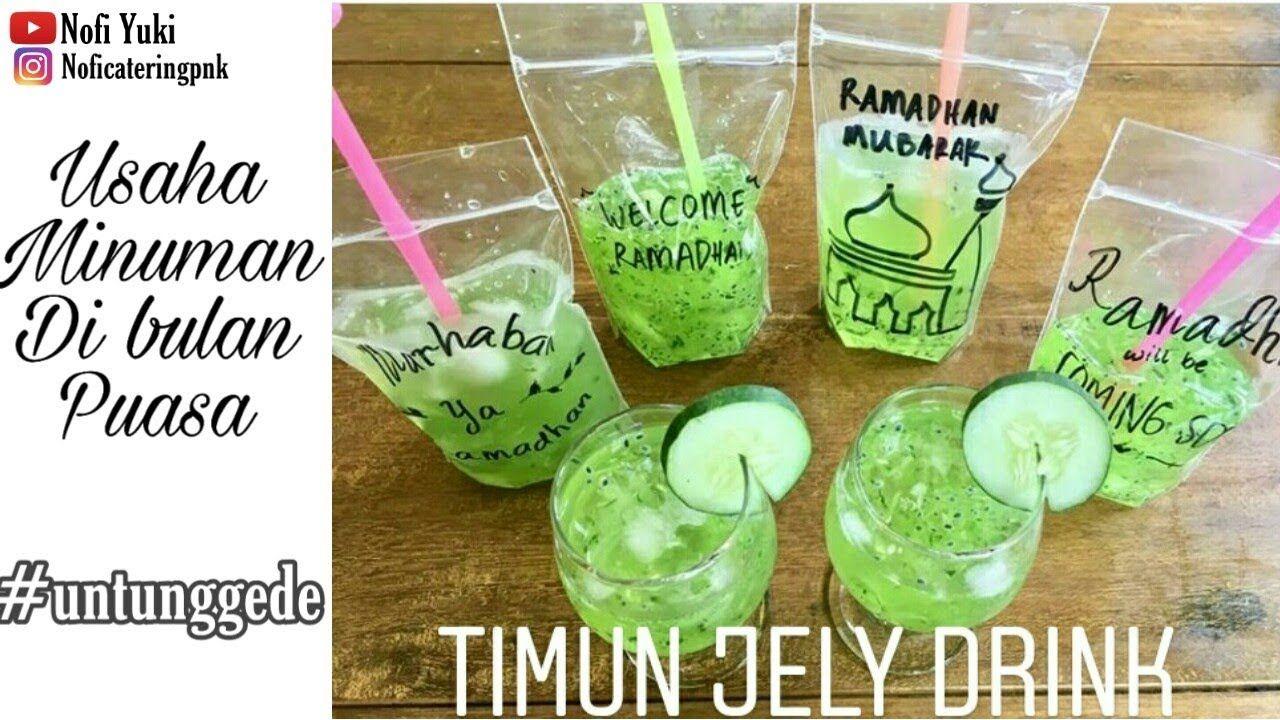 Timun Jely Drink Minuman Berbuka Puasa 6 Youtube Timun Resep Minuman Resep