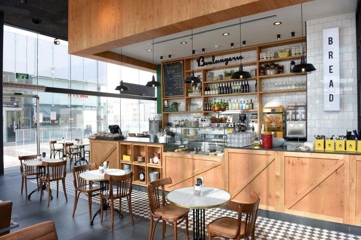 Biga Bakery & Caf by Eti Dentes Interior Design, Kfar Saba  Israel   Retail Design Blog   World design by eyes Yova Yager   Pinterest   Bakeries,  Cafes ...