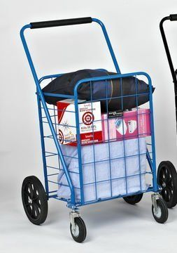 9ea50c56854a Narita Trading 117BL Sunny Super Shopping Cart, Blue -- Read more ...