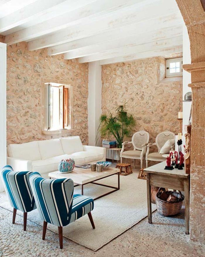 eine innovative Wandverkleidung Wandverblender Steinoptik in rosa - Wohnzimmer Design Grun