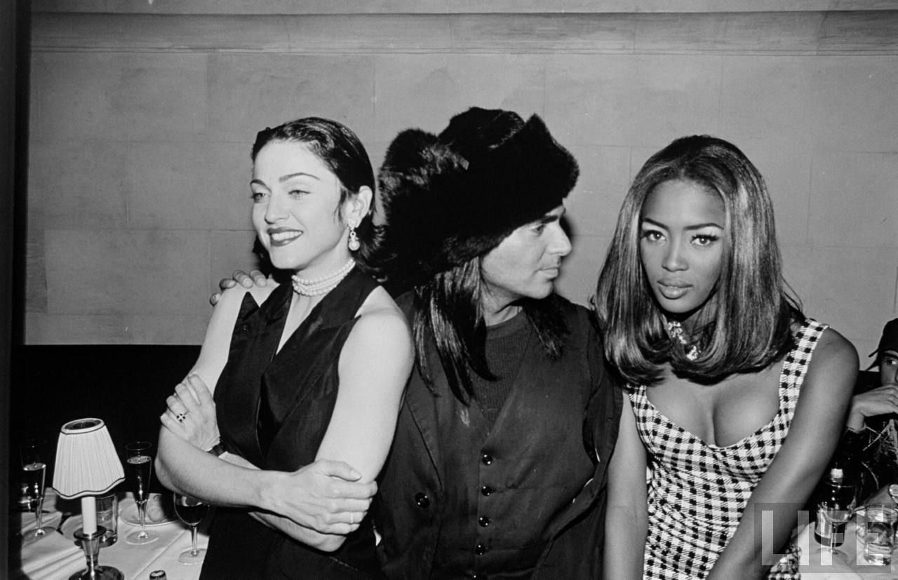 Madonna, Steven Meisel and Naomi Campbell, 1991